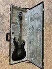 ESP LTD MH-401FR QM Electric Guitar in See-Thru Black w/ Case