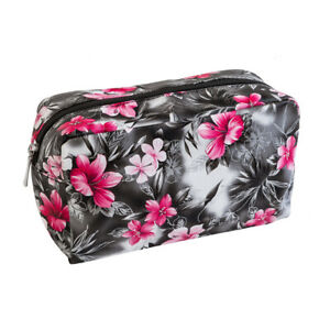 Floral Orchid Passion Cosmetic Makeup Bag By Royal Cosmetics Accessories