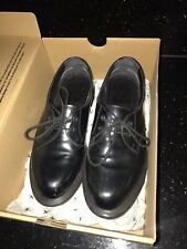black dr martens BROOK shoes size 5 BOXED VERY LITTLE USE
