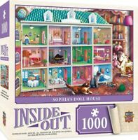 MasterPieces Inside Out Sophia's Dollhouse - 1000 Piece Jigsaw Puzzle