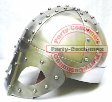 Viking Mask Medieval Helmet Deluxe Warrior Armor Helmet Reproduction Helmet
