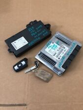 BMW 1 SERIES E87 116i MANUAL ENGINE ECU SET DDE CAS3 KEY N45B16A 64k 7557809