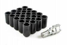 BLACK STEEL WHEEL TUNER NUTS M12x1.25 fits NISSAN SKYLINE R32 R33 R34 SX ZX S15