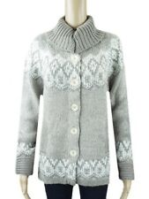EX PER UNA MARKS & SPENCER GREY KNITTED JUMPER CARDIGAN SIZE M BRAND-NEW M&S