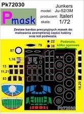 Junkers JU-52/3M peinture masque à ITALERI KIT #72030 1/72 pmask