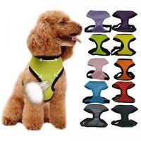 KM_ Nylon Pet Puppy Soft Mesh Dog Harness Strap Vest Collar For Small Medium N