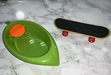 cockatiel/budgie/small Parrot Skateboard And Bath Tub