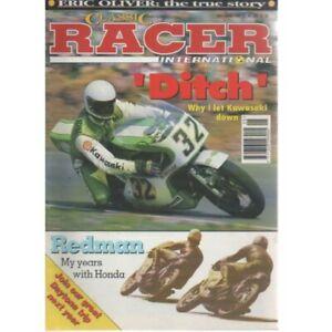 Classic Racer International Magazine May/June 1995 - JIM REDMAN HONDA TERRY GROT