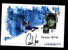 Frederie covili AUTOGRAFO MAPPA ORIGINALE FIRMATO ski alpine + a 160920