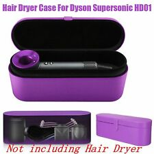 Portable PU Leather Hard Storage Case Travel Box For Dyson Supersonic Hair Dryer