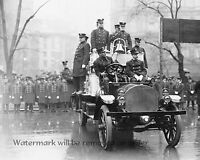 Photograph of a New York Mack Fire Truck Year 1913 8x10