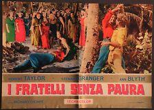 Fotobusta I FRATELLI SENZA PAURA 1964 ROBERT TAYLOR, STEWART GRANGER, ANN BLYTH