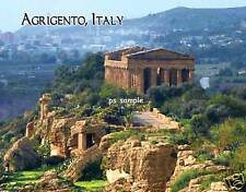 Italy - AGRIGENTO - Travel Souvenir Flexible Fridge Magnet