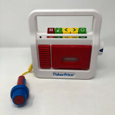 Fisher Price Tape Cassette Player Recorder Tape Microphone 2017 Classic Toys