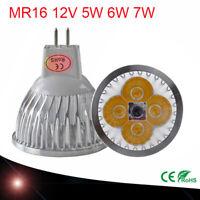 1/4/10X MR16 Non-Dimmbar LED Birne Strahler Lampe Warmweiß Kaltweiß Leuchte 12V