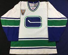 Vintage Vancouver Canucks Ice Hockey NHL CCM Jersey SizeM