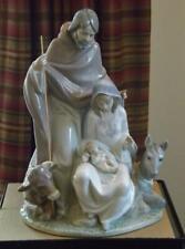 Lladro Joyful Event Christmas Nativity Scene 6008 Mint Condition