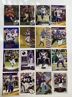 Minnesota Vikings Football 16 Card Lot Kirk Cousins Dalvin Cook Mattison Thielen