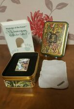 Zippo Lighter 1995 Mysteries Of The Forest Jaguar with Cub