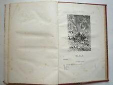 L'ESPRIT DES BETES DE A TOUSSENEL ILLUSTRÉ PAR E BAYARD CHEZ HETZEL PARIS 1868