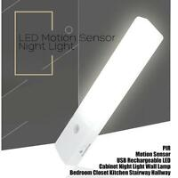Rechargeable Infrared Motion Sensor Wall LED Light Lamp Torch