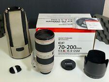 New listing Canon Ef 70-200 mm F/2.8L Usm Telephoto Lens (2751B002)
