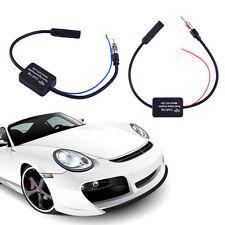25db Auto Car Signal Amp Amplifier Booster TV AM/FM Radio Antenna Aerial ANT208.