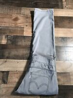 Levi's Men's 30x31 Straight Cargo Pocket Gray Jeans Pants Workwear