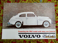 Volvo PV 544 the 1962 model Buckel US Brochure Prospekt neuwertig TOP Original