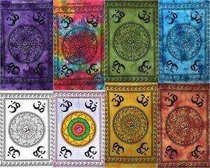 ReligiösOm Chakra Zeichen Wandbehang Poster-Wandteppich Klein Türdekor Bohemien