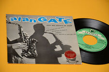 "ALAN GATE 7"" EP BLU DIPINTO DI BLU / MI MUSIKA... ORIG FRANCE '60  EX TOP JAZZ"