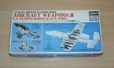28-2 HASEGAWA 1/72nd SCALE AIRCRAFT WEAPONS:II PLASTIC MODEL KIT STARTED