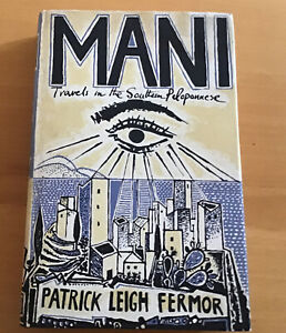 Patrick Leigh Fermor Book Mani 2nd Printing 1st Edition DJ John Murray 1958