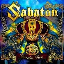 SABATON - CAROLUS REX  CD +++++11 TRACKS POWER METAL++++++++++NEU