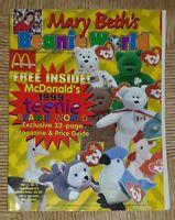 Mary Beth's Beanie World Magazine Collector's Edition June 1999 McDonalds Teenie