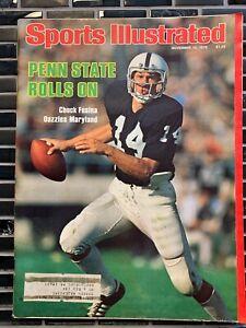 Sports Illustrated - Chuck Fusina -PENN STATE November 13, 1978 -(M16A)