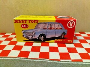 Dinky Toys, No,140 Morris 1100    Reproduction BOX ONLY,