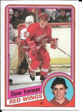 84-85 Topps Steve Yzerman Rookie Card RC #49