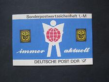 DDR MiNr. 3204  10x im Sonderpostwertzeichenheft postfrisch**  (U 156
