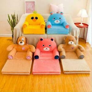 Childrens Kids Comfy Soft Foam Chair Toddlers Armchair Seat Bedroom Lounger Sof*