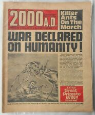 2000AD Prog 78 from August 1978. Jolly Green Giant Banned Comic. Good Condition.