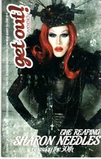 SHARON NEEDLES Get Out NYC magazine 2012 RuPaul's Drag Race queen Mika Newton