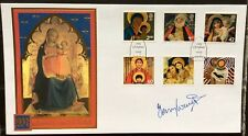 TERRY WAITE, Hostage/Church envoy Signed 1.11.2005 Madonna & Child Christmas FDC