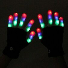 ZOCO 6 Mode Colorful LED Gloves Party Light Show Dancing Gloves Flashing Fingers