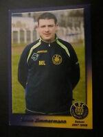 20754 Silvio Zimmermann 1.FC Lok Leipzig 07 - 08 unsignierte Autogrammkarte