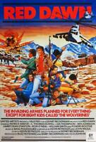 Red Dawn Movie POSTER 11 x 17 Patrick Swayze, Charlie Sheen, C. Thomas Howell, C