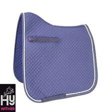 HyWITHER Competition Dressage Saddle Pad – Saddle Cloth – NAVY – Cob/Full