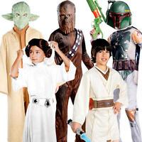 Star Wars Kids Fancy Dress World Book Day Week Character Boys Girls Costumes New