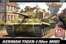 Academy 13287 1:35 Tiger 1 Mid Production 70th Anniversaire EDN AVEC ZIMMERIT Tool