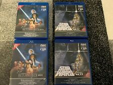 Star Wars Ep. 4 5 6 Single OR Double sets on Blu-Ray & 1977 4K77 4K83 UHD 4K